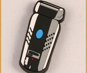 Polyresin-Magnet Mercedes Viano blau